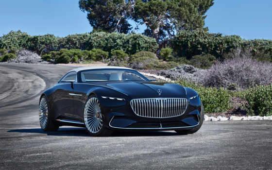 mercedes, maybach, vision, cabriolet, concept, benz, top,