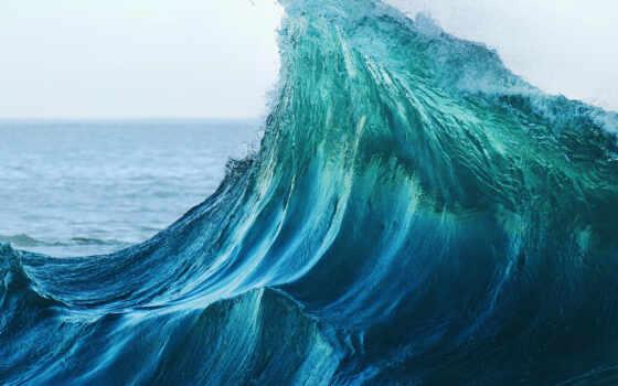 plus, ipad, море, волна, прилив, гладь, resolution, фон, mobile