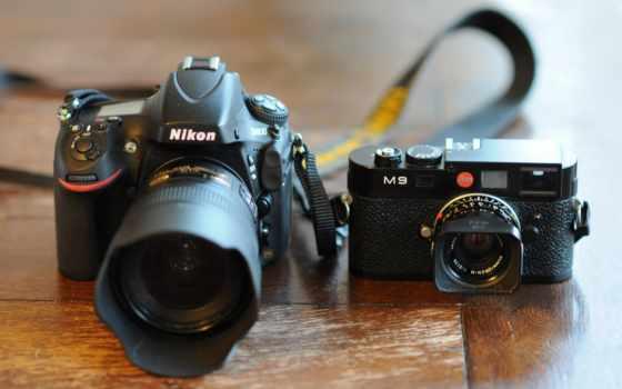 такие разные фотоаппараты