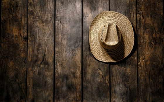 шляпа, west, американский, rodeo, hanging, солома, традиционный, farmer, country, wood,