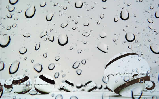 water, drops, ipad