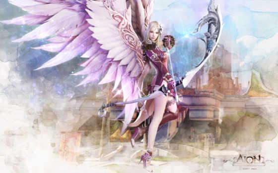 angel, aion, fantasy