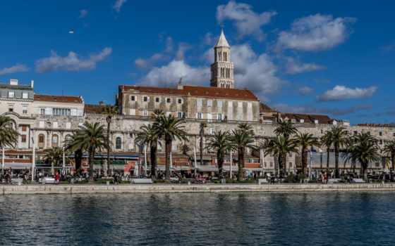 split, панорама, хорватия, desktop, widescreen, high,