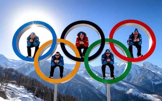 церемония, начнётся, открытия, xxii, зимних, олимпийских, фишт, стадионе, сегодня, февр, московскому, времени, олимпийском, times,