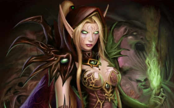 pack, world, sexy, warcraft, art, эльф, ras, girls, webshots,