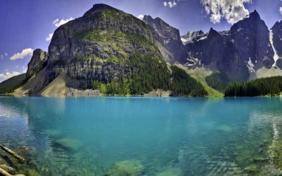 озера, горы, озеро, горные, горах, банка, снег, reki, фотографий,
