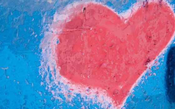 текстура, color, стена, краска, красивые, daily, сердце,