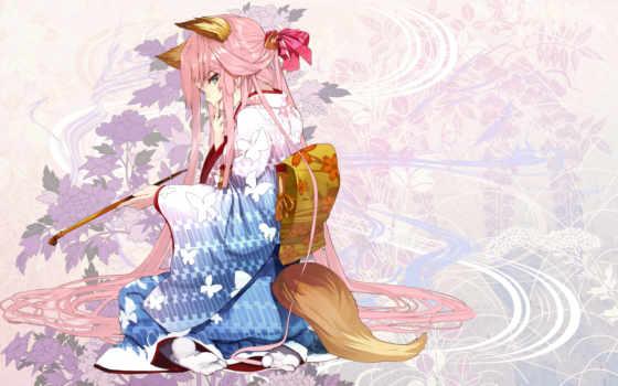 кимоно, kitsune