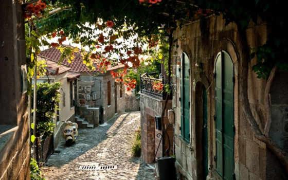 франция, дома, улица