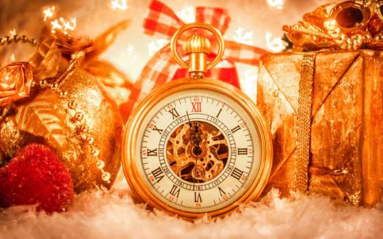 christmas, watch, новый