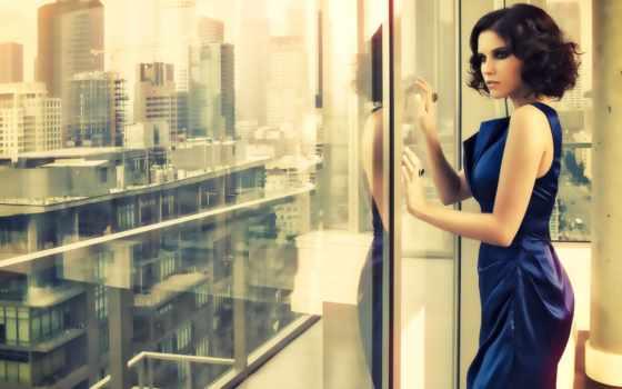 окно, взгляд, девушка