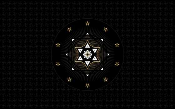 символ, sveta, без, графика, абстракция, gates, puzzle, золотистый, широкоформатные, абстракции,