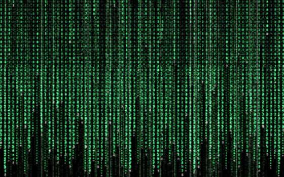 , матрица, зеленый, цифры,