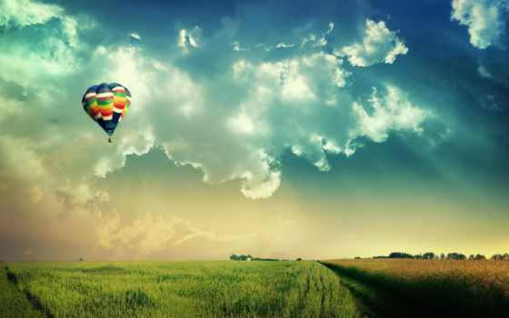 воздушные, шары, девушка, коллекциях, горизонта, card, коллекции, яndex,