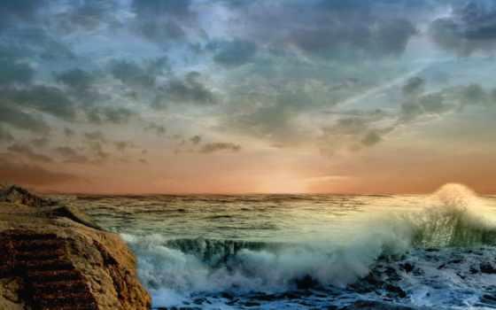 природы, волны