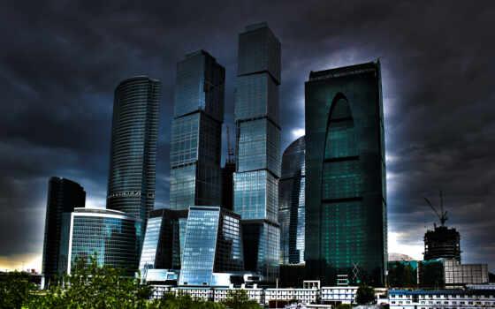 москва, город, здания