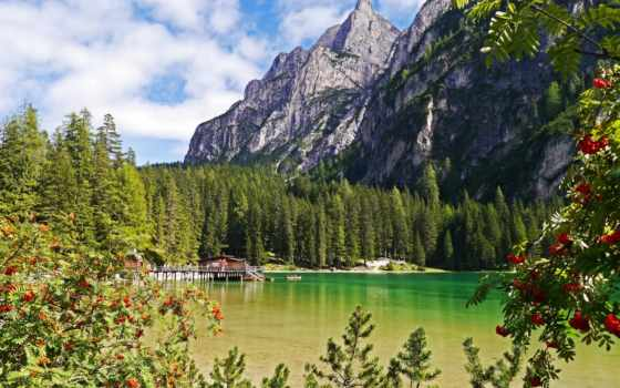природа, горы, озеро Фон № 95880 разрешение 2048x1365