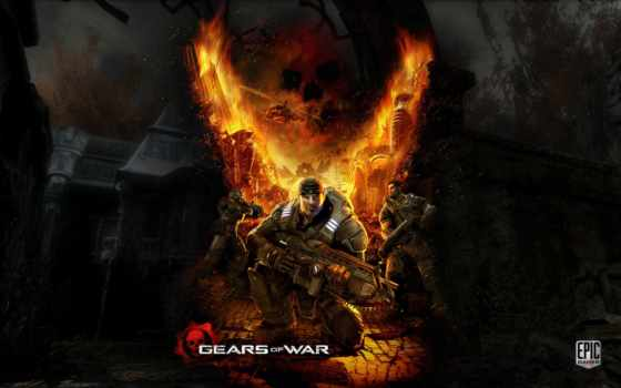 war, gears, game