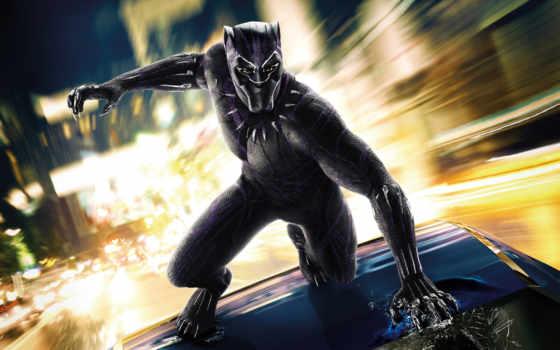 panther, black, плакат