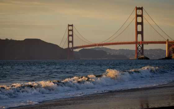 gate, золотистый, мост, video, clips,