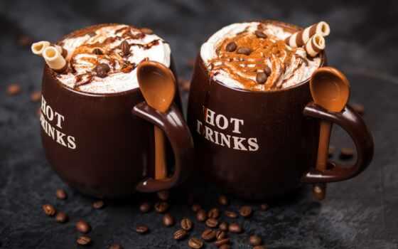 coffee, chocolate, cinnamon, какао, circle, seed, cup, pischat, lozhok, мороженое