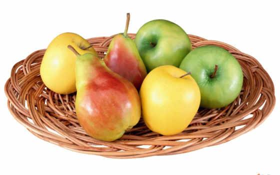 яблоки, груши, яблок