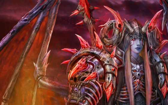 art, демон, крылья