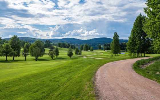 norwegian, trees, норвегия, summer, холмы, fone, трава, дорога, поляна, зелёный, разных,