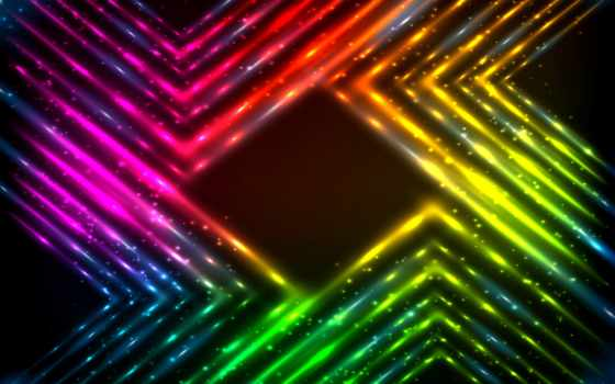 радуга, abstract, вектор, фон, neon, stock, тона, огни, art,