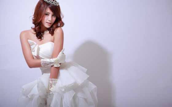невеста, женщина, волосы, women, asian, free,