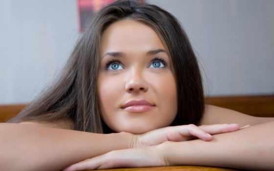 глаз, color, волос, голубых, макияж, глазам, темно, what, серо, голубым, русый,