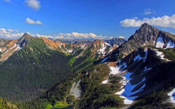горы, сша, холмы, заставки, красивые, природа,