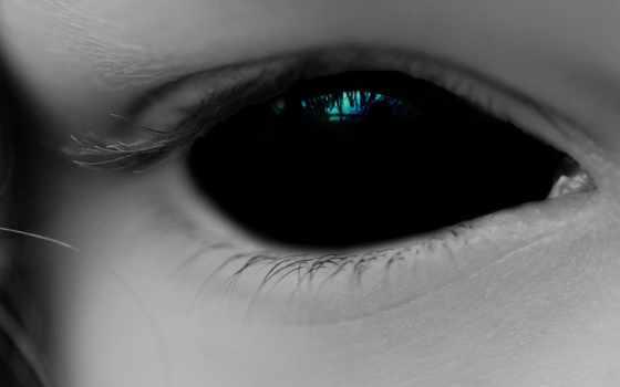 eyes, демон, black, dark, глаз, human