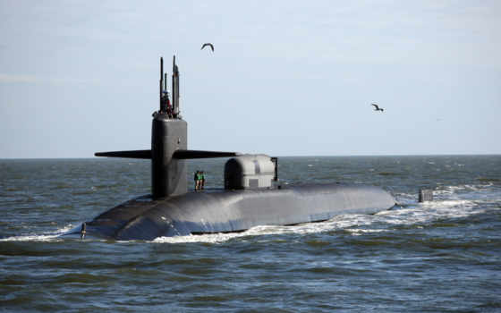 ohio, лодок, подводных