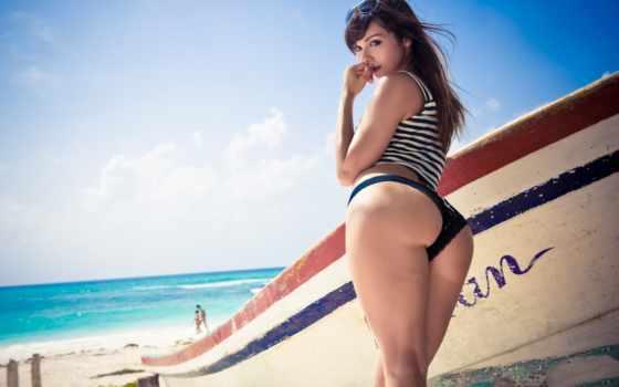 devushki, морячка, девушка, sexy, пляж, работать, ass, природа, free,
