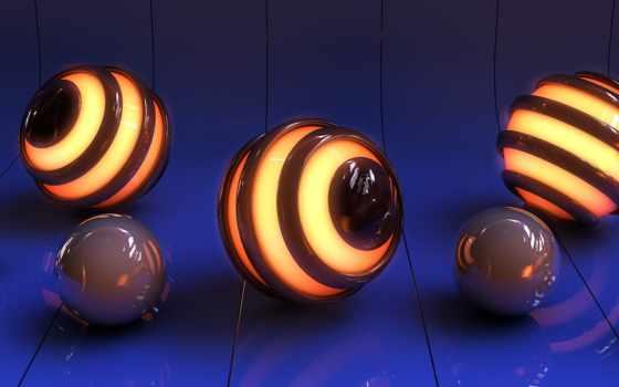 сфера, отражение, rendering, мяч, line, графика, preview, reflections, desktop,