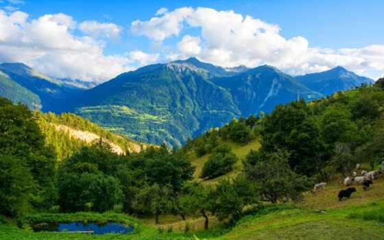 mountains, швейцария, swiss, desktop, free, природа,
