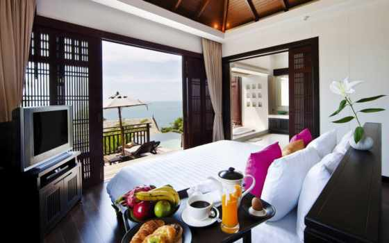 samui, design, villas, resort, spa, bhundhari, bild, thailand,