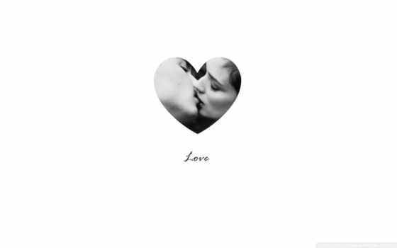 поцелуй в сердечке