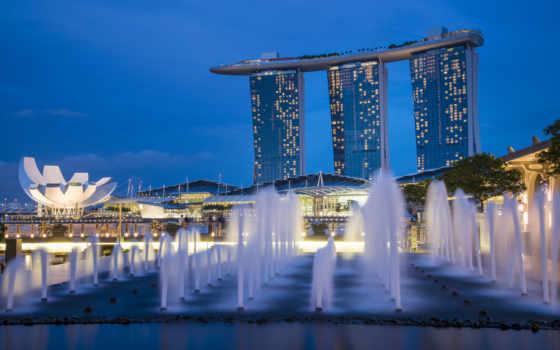 singapore, architecture, bay