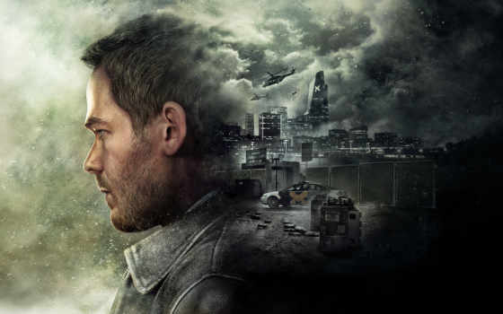 quantum, break, desktop,