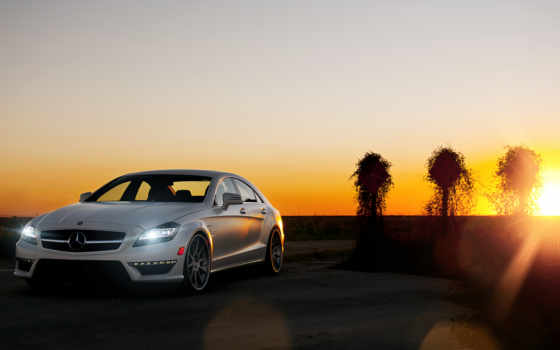 cars, mercedes, benz, cls, car, full,