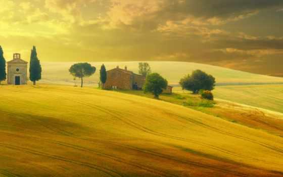 italian, tuscany, природа, italy, margin,