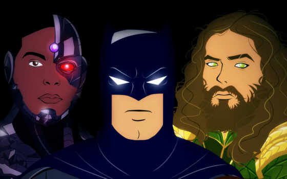 batman, resolution, aquaman