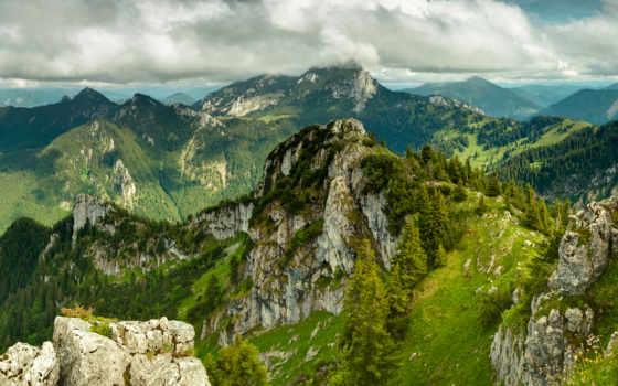 пейзажи, пейзаж, горы