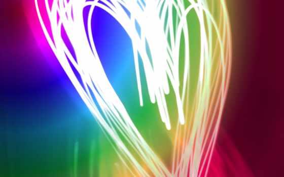 neon, свет, краски
