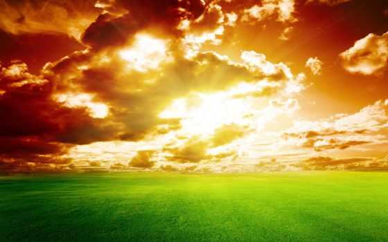 природа, небо, free, oblaka, фото, гора, пляж,