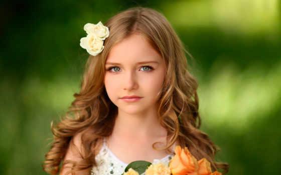 девушка, little, hairstyles, women, cute, portrait,