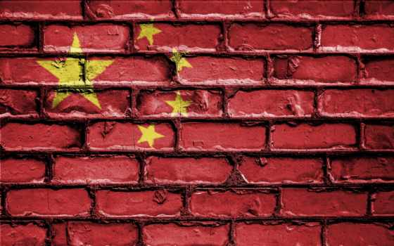 флаг, china, китаянка, телефон