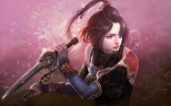 fantasy, воин, женщина, assassin, девушка, женский, master, метеор, upload, world